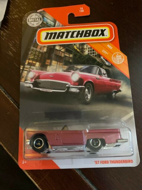 Matchbox '57 Ford Thunderbird MBX City 2020 # 14 of 100