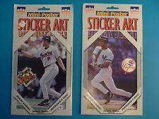 Cal Ripken Jr Derek Jeter Starline Mini Poster Sticker Art Small Posters