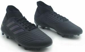 Details zu Adidas Herren Fußballschuhe Stiefel Predator 19.3 Fg Fußball Stollen Schwarz
