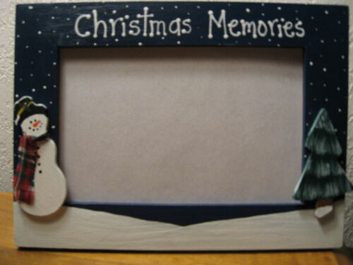 Christmas photo picture frame CHRISTMAS MEMORIES