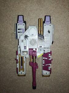 Transformers Armada GALVATRON  MISSING HORNS 1 MISSILE & MINI-CON