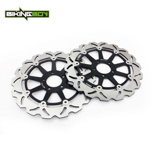 Front Brake Discs Rotors For Kawasaki ZX7R ZX9R ZX12R Ninja ZXR750 VN 1500 1600