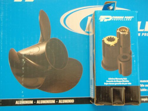 PROPELLER SUZUKI OUTBOARD 10-3//4X12 H11012 W//HUB 11 TURNING POINT PROP DT DF