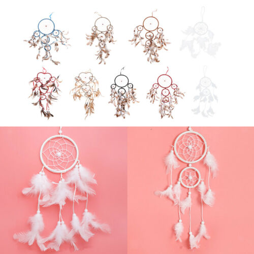 1X Dream Catcher Net With Feathers Wall Hanging Decoration Ornament Gifts