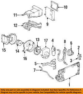 gm oem a c ac compressor 88964862 ebay Ford Expedition AC Diagram image is loading gm oem a c ac compressor 88964862