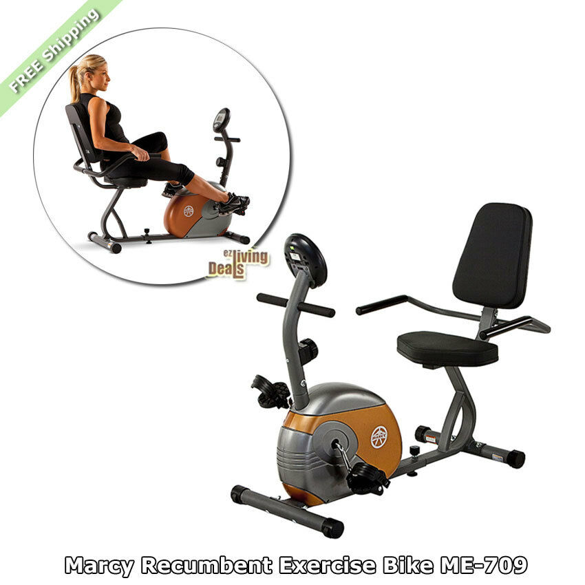 Recumbent exercise bike marcy home gym bikes me