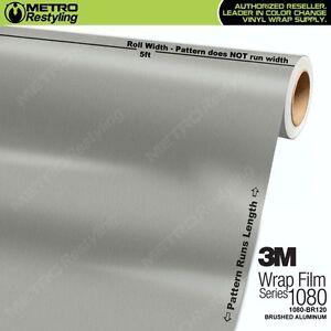 3m 1080 Series Brushed Aluminum Vinyl Vehicle Car Wrap