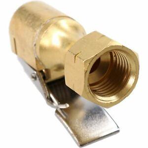 Pcl-Euro-Clip-en-el-extremo-abierto-de-Neumaticos-Valvula-Conector-1-4-034-BSP-Rosca-Hembra-CO8T73
