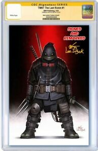 PREORDER-TMNT-THE-LAST-RONIN-INHYUK-LEE-CGC-9-8-SS-SIGNED-amp-REMARKED-400-PRINT