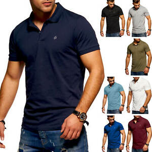 Jack-amp-Jones-Hommes-Polo-Shirt-Polo-Manches-Courtes-Shirt-Polo-Decontracte-WOW
