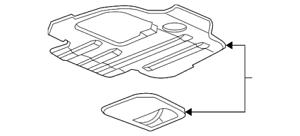Genuine GM Lower Shield 15192443
