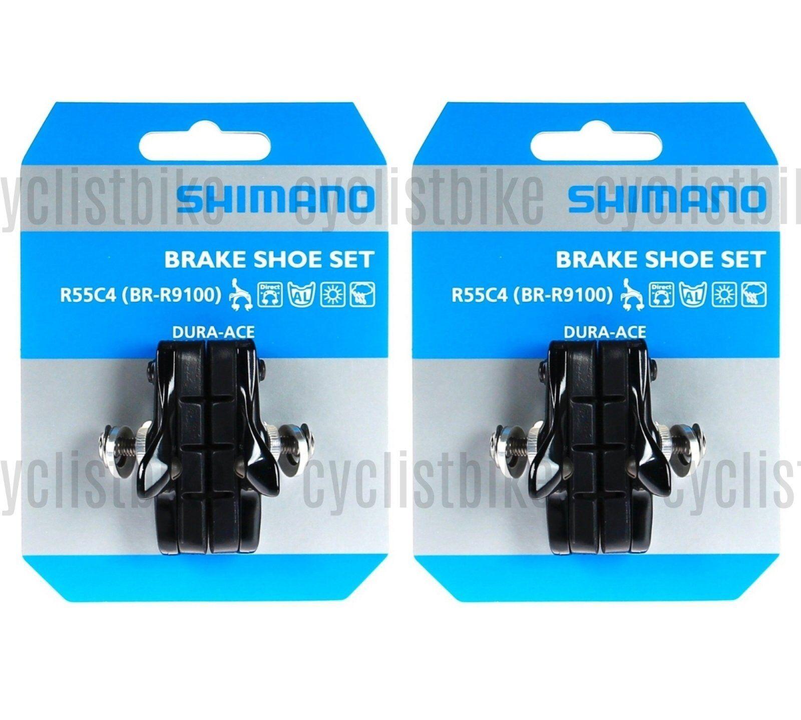 Shimano Dura-Ace Cartucho BR-9000 9100 R55C4 Cartucho Zapatas De Frenos