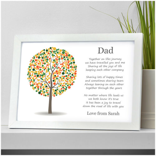 PERSONALISED Christmas Gifts for DAD DADDY GRANDAD MUM Presents for Him Her