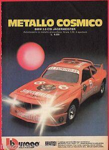 Pubblicita-Advertising-1981-BBURAGO-BMW-3-0-CSI-Jagermeister