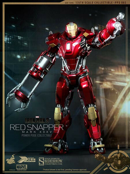 Hot Toys Iron Man 3 MARK XXXV (35)  ROT SNAPPER 12