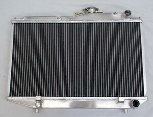 2 Row Performance Radiator For Toyota Corolla Ae86 1984