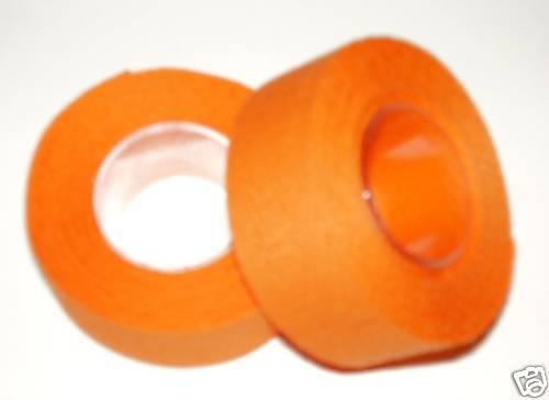 Tressostar Cotton Cloth Handlebar Tape Orange Two