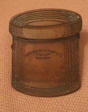 rare antique solid bronze Arthur N. Pierson & co. advertisement paper clip clasp