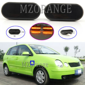 LED-Dynamic-Side-Marker-Light-Indicator-For-VW-Golf-Bora-Passat-Polo-Transporter