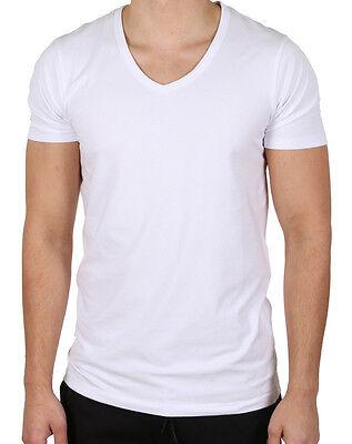 Jack & Jones Herren Basic Shirt T-shirt 3er-pack [ S-m-l ] Grau Weiß Ausgereifte Technologien