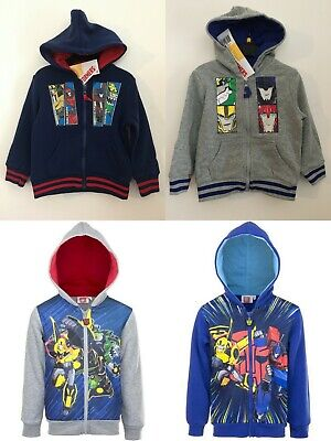 Transformers Boys Sweatjacket Hoodie
