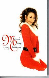 Mariah Carey Merry Christmas 1994 Cassette Tape Album Pop Dance Rock Holiday 90s | eBay
