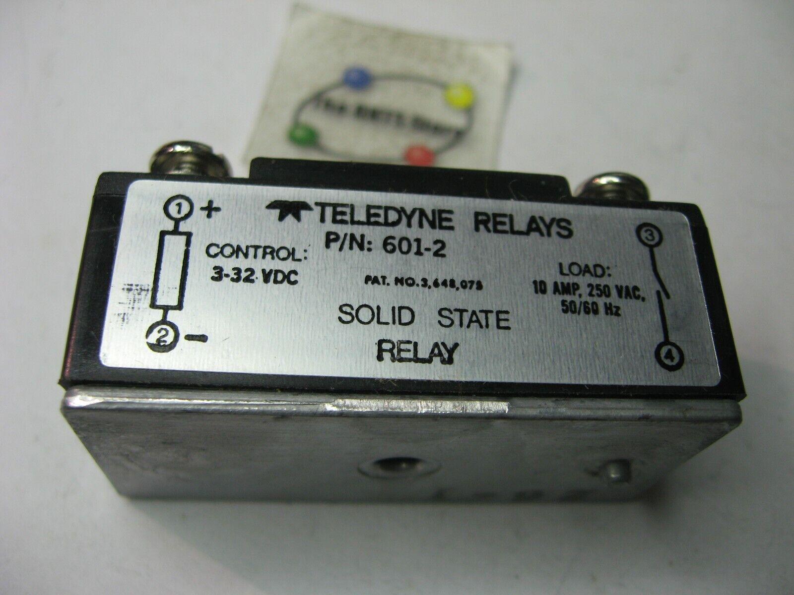 Teledyne SSP 601-2 Solid State Relay 3-32VDC 250VAC