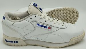 Reebok Classics Low Leather Trainers M46705 White/Blue UK8/US9/EU42