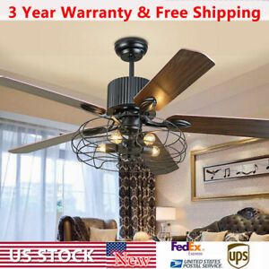 52-034-LED-Ceiling-Fan-with-Light-5-Reversible-Wood-Blades-Remote-Control