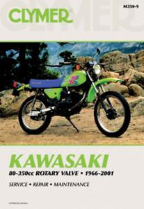 Clymer Workshop Manual Service Repair Kawasaki KX60 1983-2002 KX80 1983-1990