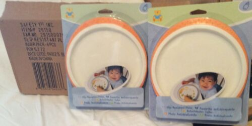 Slip resistance toddler plate safety plate training food accessories