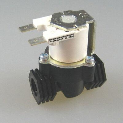 12VDC Magnetventil Wasserventil G1//2 20mm Elektro Magnet Ventil NC Einlaufventil