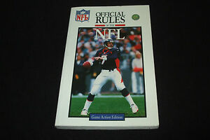 Official Playing Rules of the NFL (National Football League) - <span itemprop='availableAtOrFrom'>Deutschland, Deutschland</span> - Official Playing Rules of the NFL (National Football League) - Deutschland, Deutschland