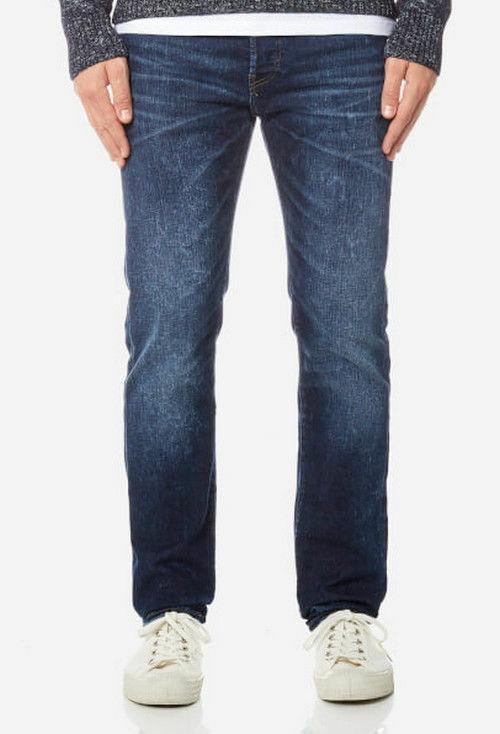 Jeans Edwin Man Ed 85 Slim (Cs Night bluee-Contrast Clean) W36 L32 Val