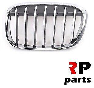 Per BMW serie X1 F48 15-19 NUOVO Paraurti Anteriore Rene Griglia Chrome//Argento Coppia
