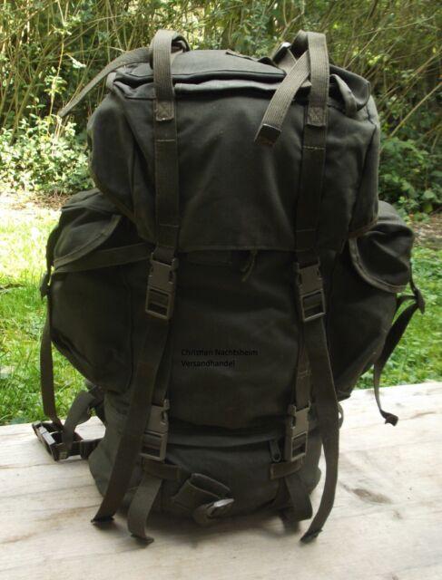 ORIGINAL BUNDESWEHR KAMPFRUCKSACK OLIV GEBR. Trekking Bw Rucksack Armeerucksack