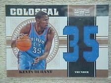 KEVIN DURANT 2010-11 NATIONAL TREASURES COLOSSAL JERSEY CARD #1 72/99