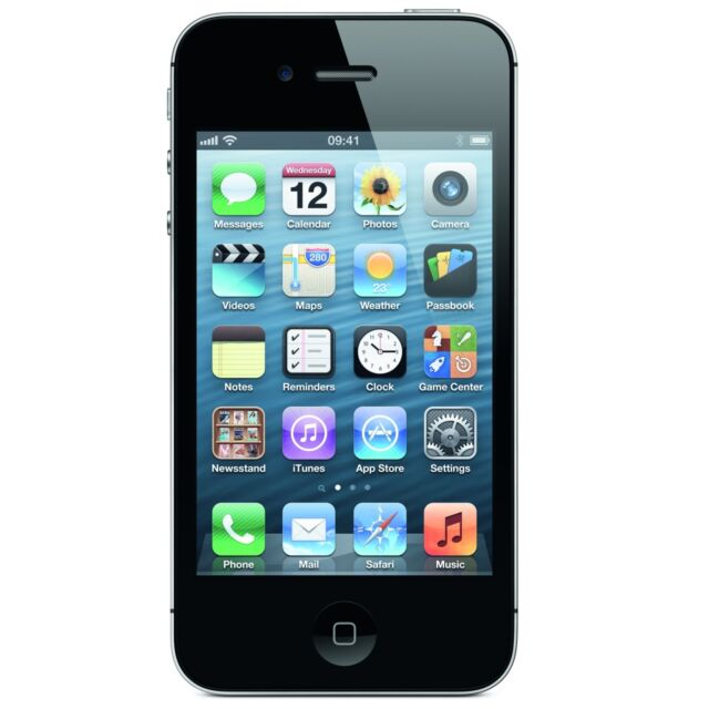 APPLE iPHONE 4S 8GB / 16GB / 32GB / 64GB WHITE / BLACK - UNLOCKED, EE, VODA