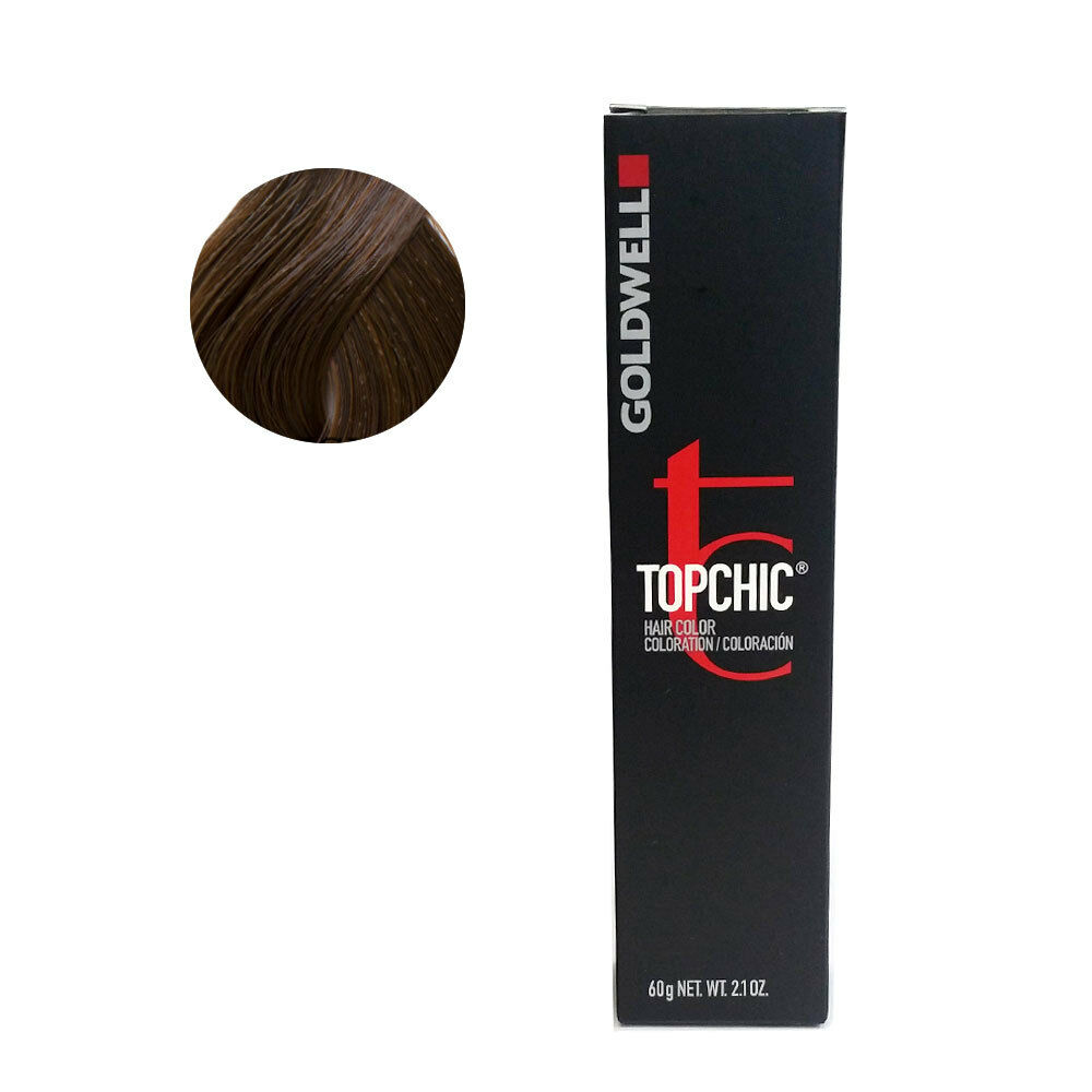 Goldwell Topchic Permanent Hair Color Tubes 6gb Dark Blonde Gold