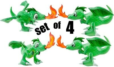 30/'/' Friendly Fire Green Dragons Inflatable Set of 2 Inflate Party Decoration