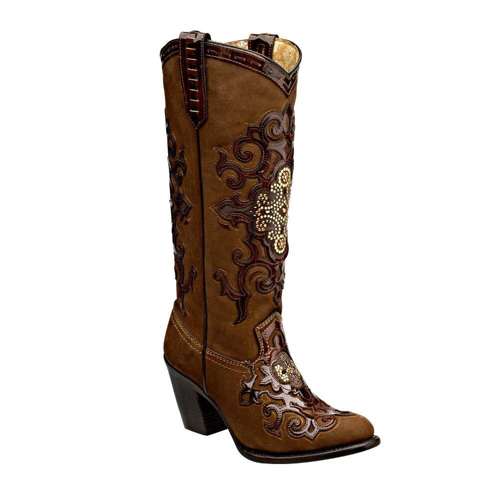 1Z22RN Women's Women's Women's Western Boots made by Cuadra Boots 146527