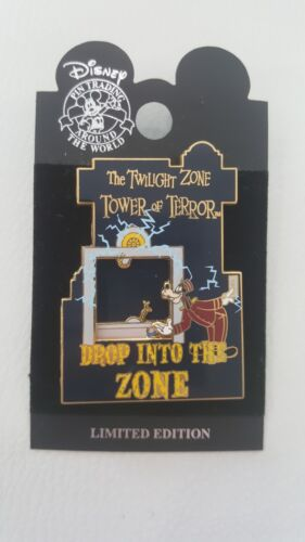 Disney Drop Into The Zone Tower of Terror Pin