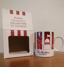 Tim Hortons Canada Quebec Travellers Collection 2016 Cities Coffee Mug NIB Gift