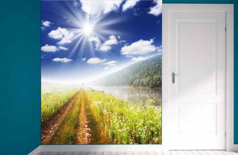3D Agriculture Cham Photo Papier Peint en Autocollant Murale Plafond Chambre Art