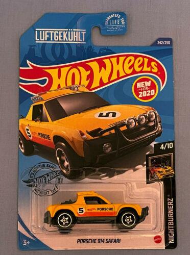 Hot Wheels NIGHTBURNERZ PORSCHE 914 SAFARI