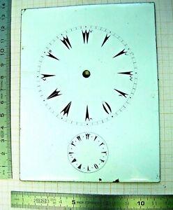 Stable Cadran Ottoman Enamel émail Dial Clock Pendule Pendulette Officier Capucine Uhr 2019 Nouveau Style De Mode En Ligne