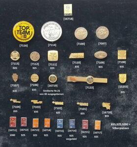 OPEL-interne-Auszeichnungen-Abzeichen-Anstecknadeln-Pins-1979-1997-AUSSUCHEN
