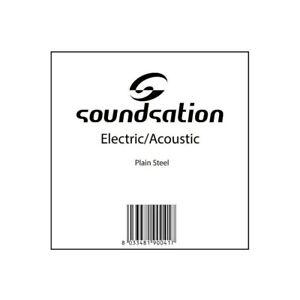 SOUNDSATION-CORDE-SINGOLE-PER-CHITARRA-ELETTRICA-ACUSTICA-VARIE-MISURE