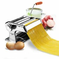 6 Pasta Maker & Roller Machine Noodle Spaghetti&fettuccine Maker Health Bp