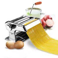 6 Pasta Maker & Roller Machine Noodle Spaghetti&fettuccine Maker Health Bp